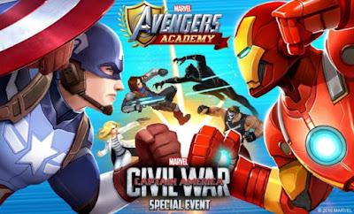 Game MARVEL AVENGERS Academy Mod v1.13.0 Apk Update Terbaru 2017[[[