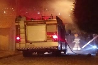 Incêndio atinge residência na cidade de Pombal