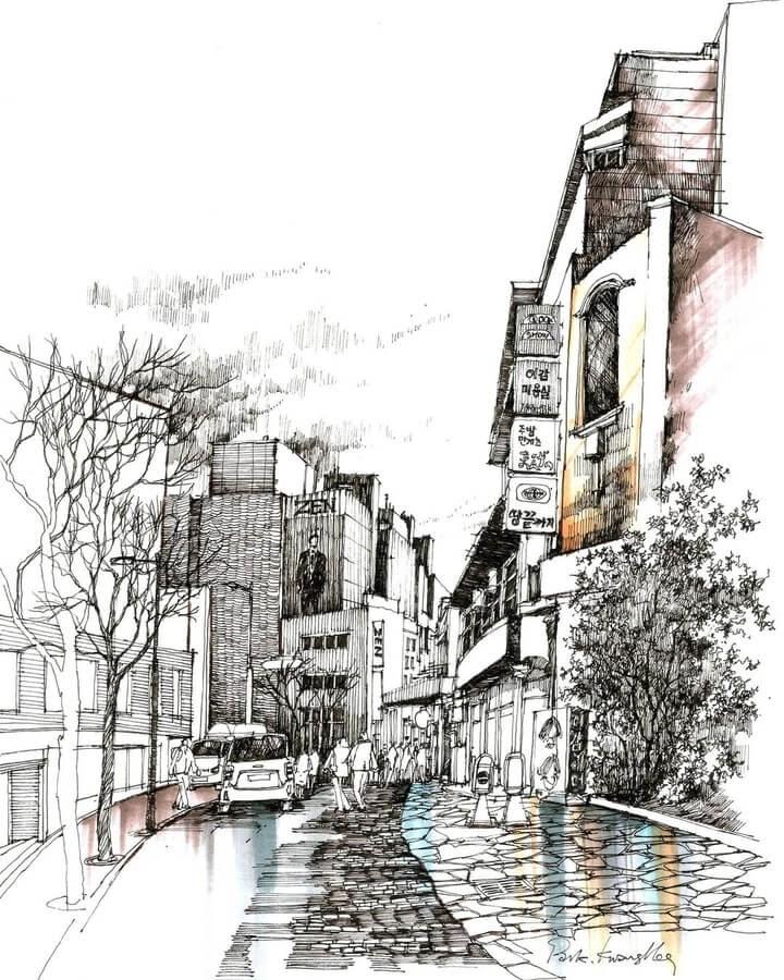 11-Subtle-colors-in-town-sketch_forum-www-designstack-co