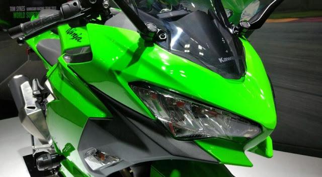 Kawasaki Ninja 250 2018 Officially Glide Updetailscom