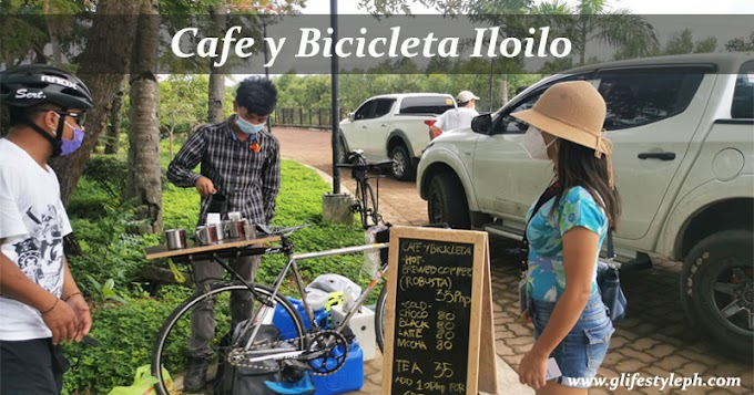 Spotted: Cafe y Bicicleta at Iloilo City Skate Park