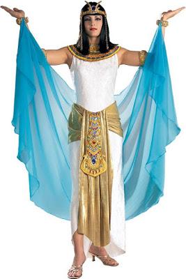 Foto de disfraz de Cleopatra para mujer adulta