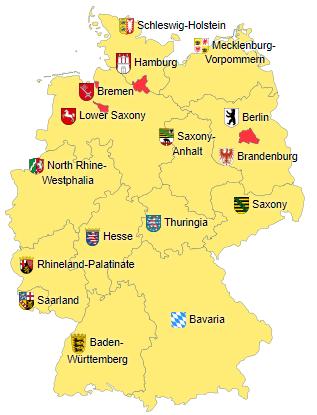 Pembagian wilayah administratif Jerman