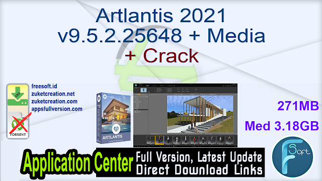 Artlantis 2021 v9.5.2.25648 + Media + Crack