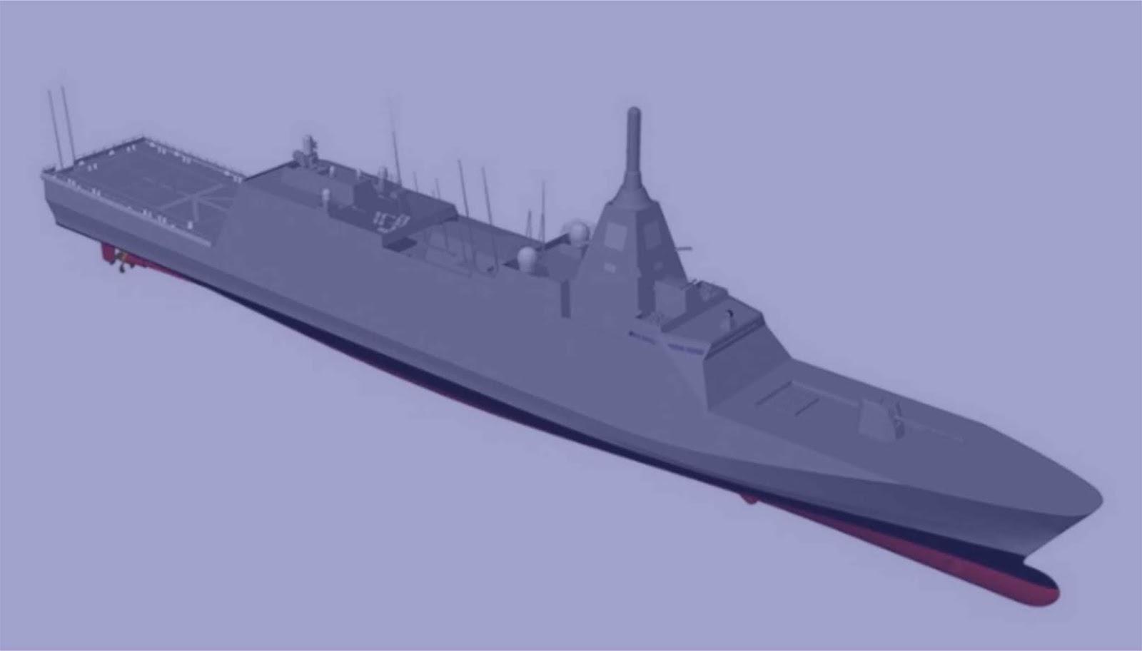 Jepang memesan dua kapal frigat multirole baru