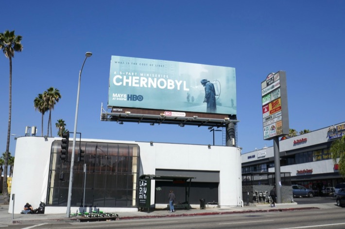 Chernobyl HBO billboard
