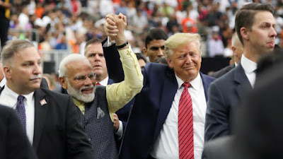 Donald Trump said Modi's statement was very aggressive.