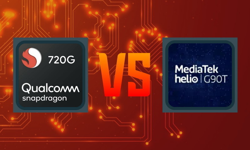 Perbandingan Snapdragon 720G vs Helio G90T