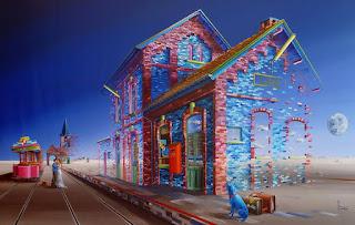 pinturas-figurativas-con-presente-surrealismo surrealistas-pinturas-figurativas