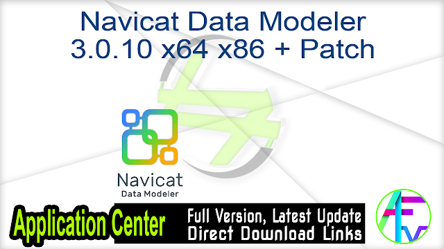 Navicat Data Modeler 3.0.10 x64 x86 + Patch
