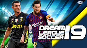 Download DLS (Dream League Soccer) 2019 Mod Apk Android Data + OBB Unlimited Coins