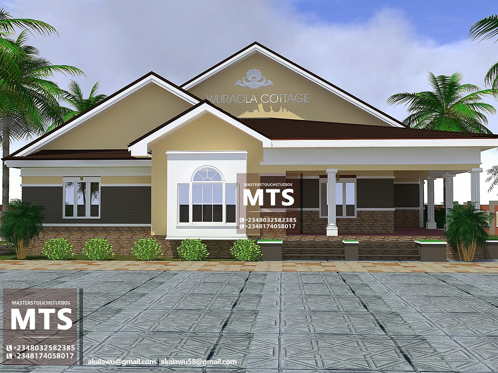 Mrs wuraola 4 bedroom bungalow residential homes and for 4 bedroom bungalow pictures