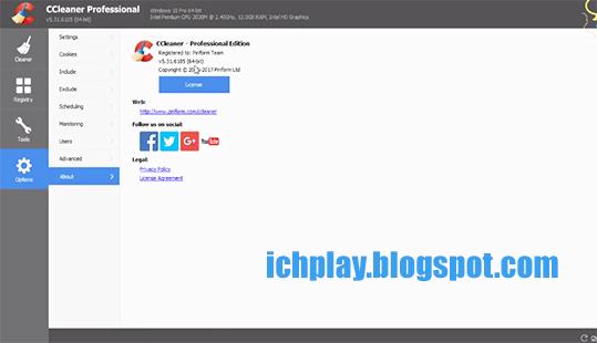 Tải CCleaner Professional Plus 5.43 Full Key mới nhất 2018 miễn phí a