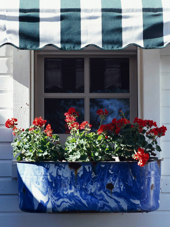 Hydrangea Hill Cottage Red White And Blue Farmhouse