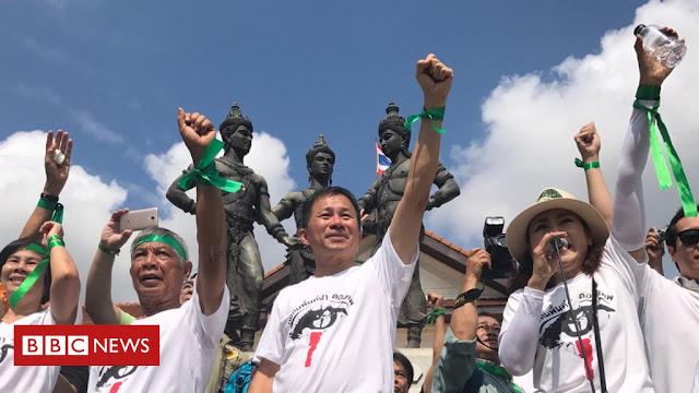 Ribuan Aktivis Lingkungan Thailand Berunjuk Rasa, Ini Tuntutannya...