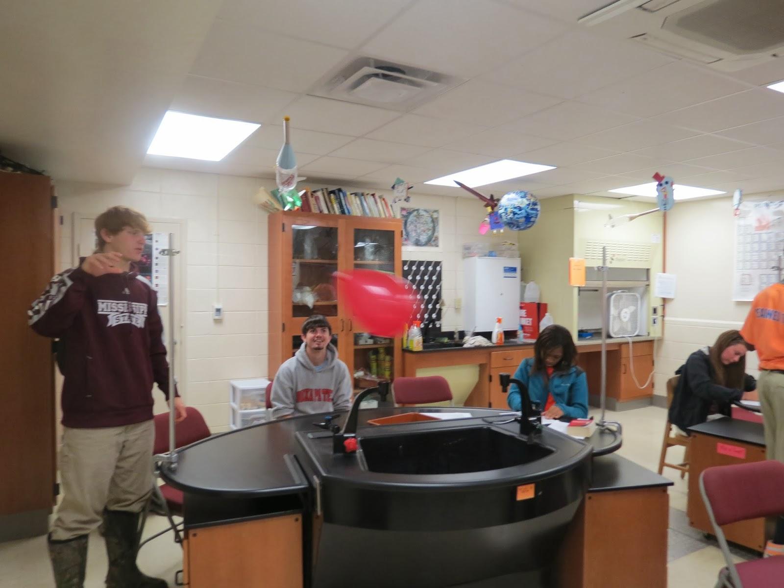Louisville High School Students Testing Newton S 3rd Law