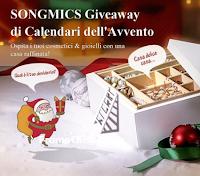 Logo Songmics Giveaway Calendari dell'Avvento: vinci gratis 35 premi e 1 Premio Premium