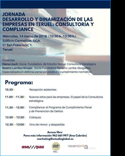 Desarrollo y dinamización de las empresas en Teruel