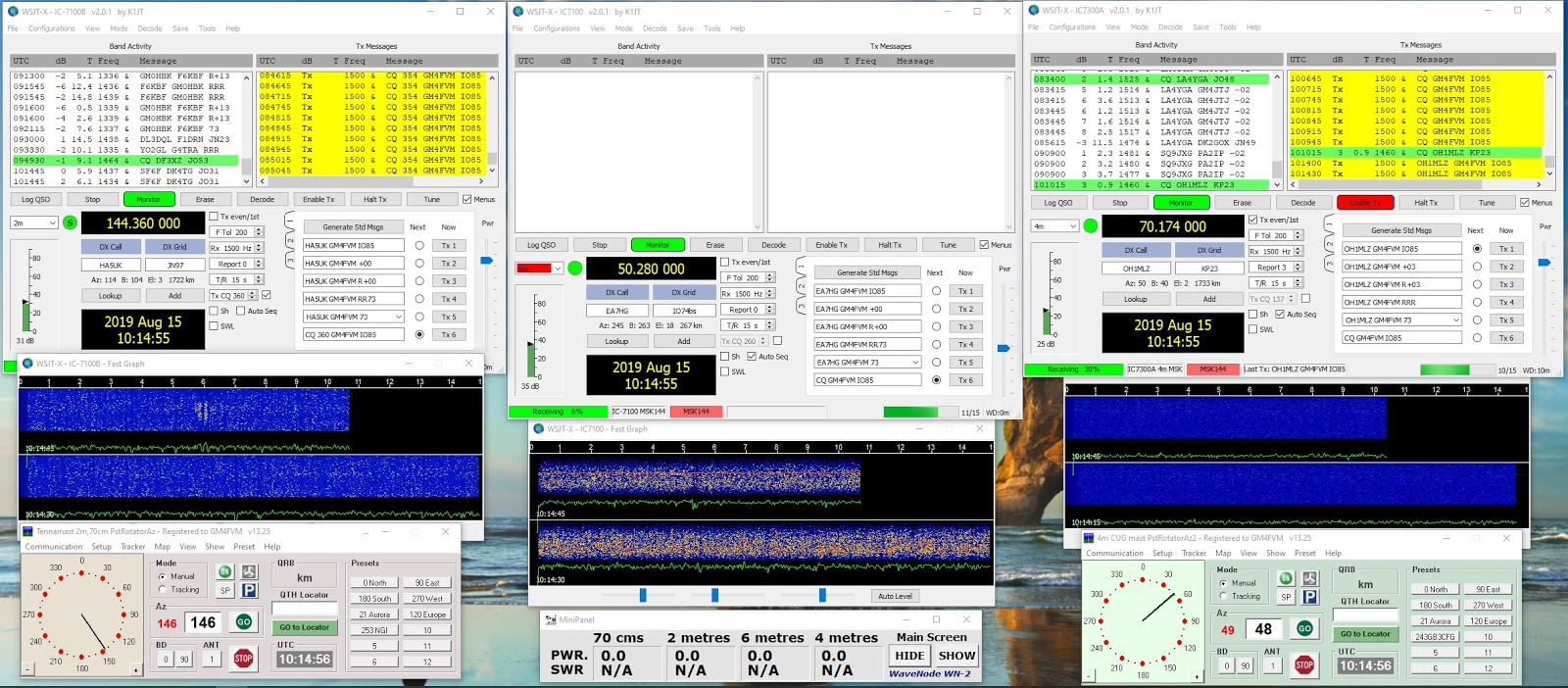 GM4FVM's radio world: Perseids and FT8, plus MSK144 T/R 15
