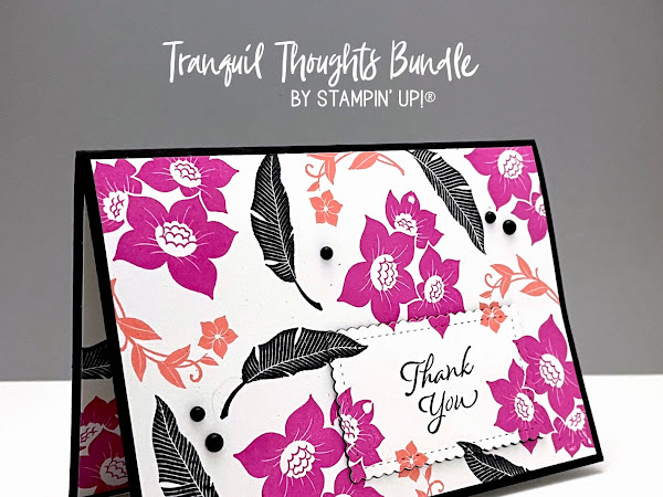 Tranquil Thoughts Bundle with Stitched so Sweetly Dies