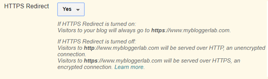 Redirection du trafic HTTP vers HTTPS