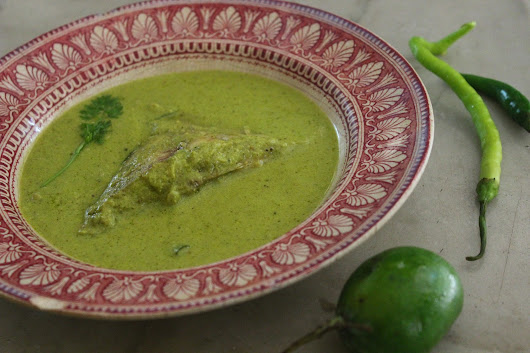 Pomfret In Cashew Mango Curry