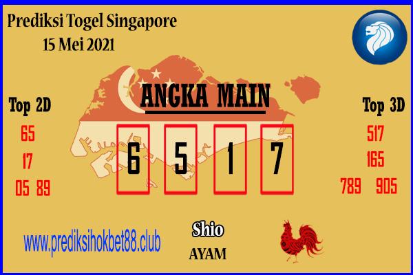 Prediksi Togel SGP 15 Mei 2021