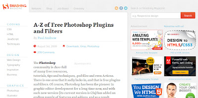 Smashing Magazine Photoshop Plug-ins