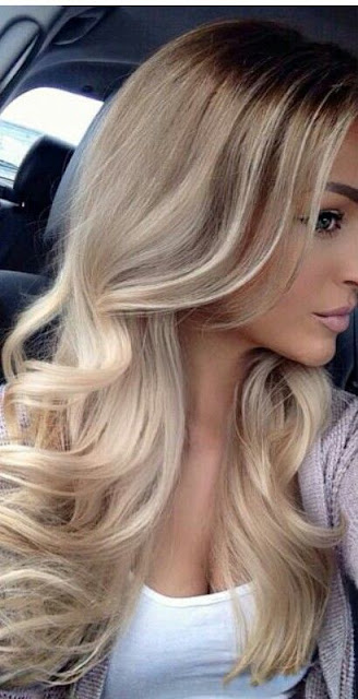 #6 Blonde hair color shade