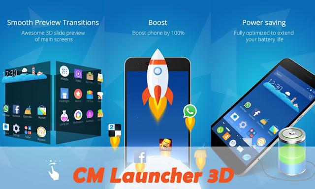 لانشر CM Launcher 3D Pro v3.39.1 المدفوع نسخة كاملة للاندرويد