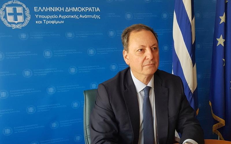 Στον Έβρο ο Υπουργός Αγροτικής Ανάπτυξης Σπήλιος Λιβανός