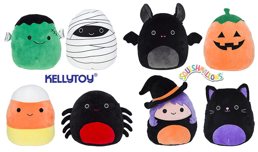 Halloween And Christmas.Squishmallows New Holiday Lines For 2019 Halloween And