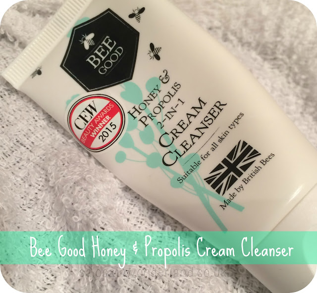 beegood honey and propolis cream cleanser review