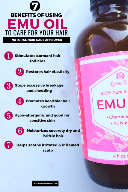 Emu Oil For Natural Hair Growth