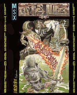 Portada videojuego Las tres luces de Glaurung