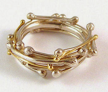 ring, silver, gold, jewelry, winter jewelry