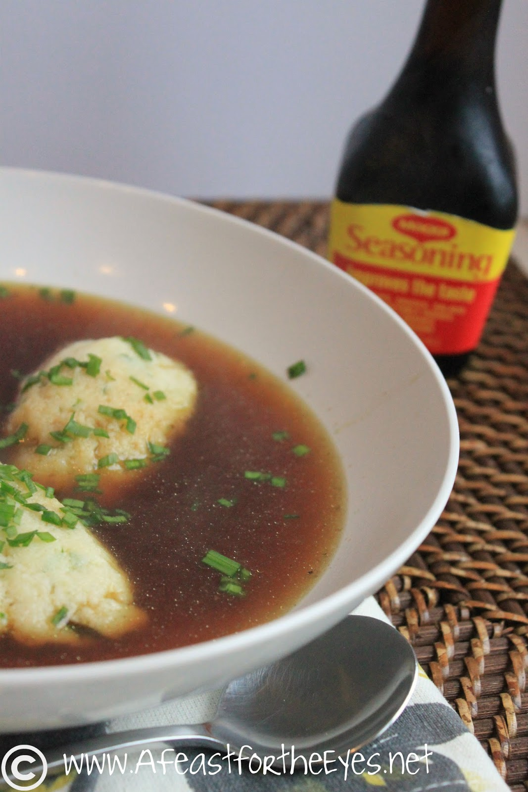 Feast for the Eyes: Grießnockerlsuppe (Semolina Dumpling Soup) and ...