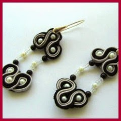 PENDIENTES SOUTACHE Y FIELTRO