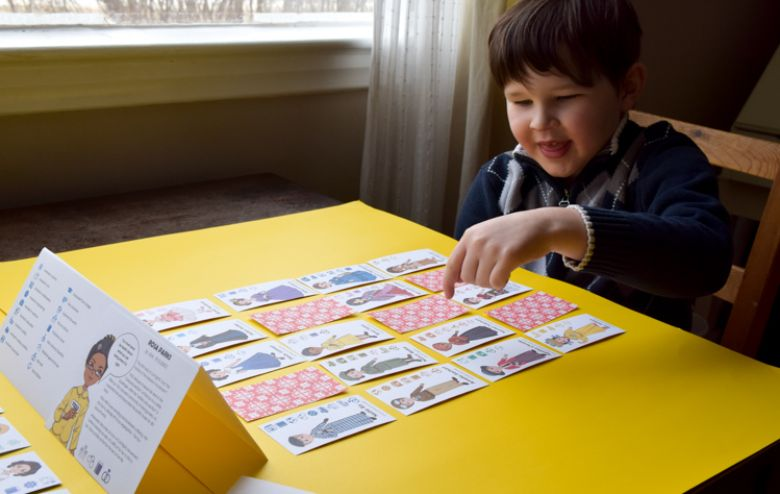 printable games for kids - famous women in history board game