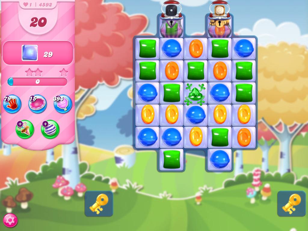 Candy Crush Saga level 4592