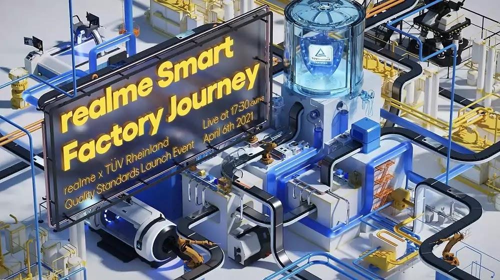 realme AI smart factory
