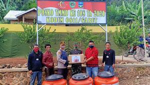 DPC PDI Perjuangan Garut Partisipasi Pada Giat TMMD Ke108 Tahun 2020