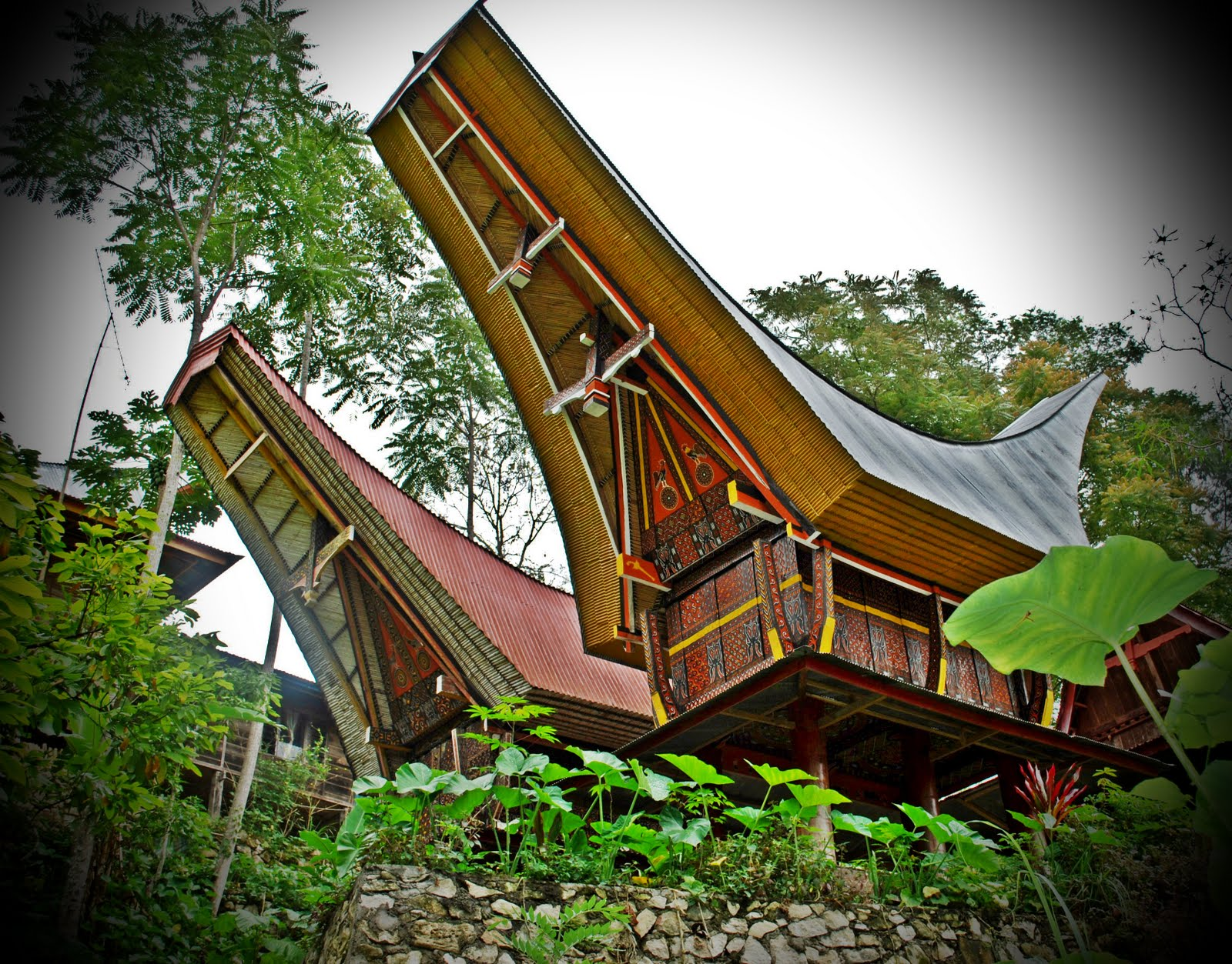 Proud To Be Asian Traditional House In Indonesia