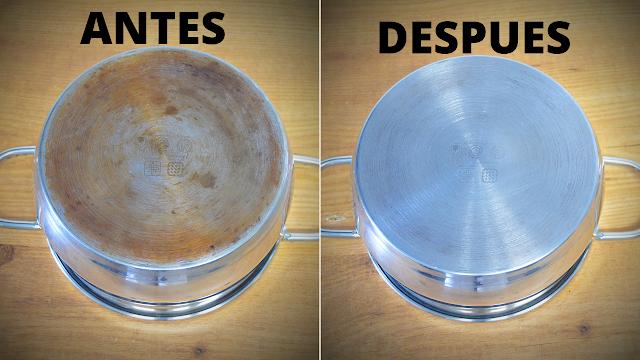 Las delicias de Mayte, como limpiar cacerolas, limpiar cacerolas con vinagre, limpiar cacerolas de aluminio, limpiar cacerolas con bicarbonato, como limpiar cacerolas quemadas,