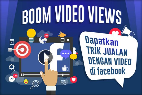Boom Video Views; Trik Jualan dengan Video