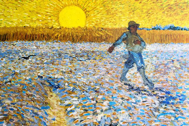 Van Gogh, Sembrador a la puesta de Sol - Museo Króller-Müller, Otterlo por El Guisante Verde Project