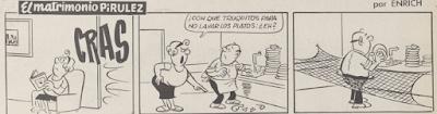 El Matrimonio Pirúlez, Lecturas 23-1-1968