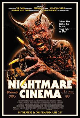 Nightmare Cinema [2018] [DVD] [NTSC] [R1] [Subtitulado]