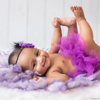 Baby Photoshoot For Girl