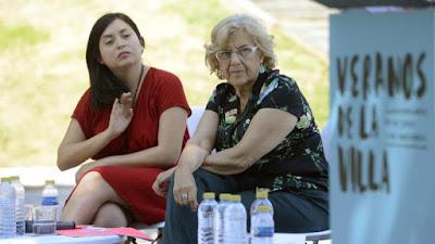Carmena, comunismo, ahora madrid, rommy, arganzuela